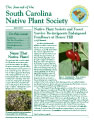 Journal of the South Carolina Native Plant Society, Fall 2007