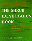 bookcover The Shrub Identification Book by George Symonds